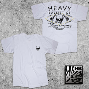 Heavy Skull - White