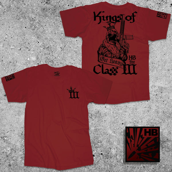 KINGS OF CLASS III - CRIMSON