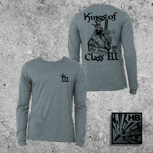 KINGS OF CLASS III - HEATHER SLATE