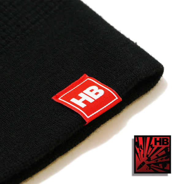 Kings of Firearms Beanie - Black|Red
