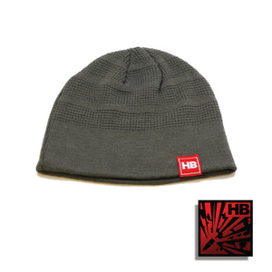 Kings of Firearms Beanie- Gray|Red