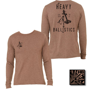 VINTAGE MORTAR HEATHER BROWN - HEAVY BALLISTICS MENS