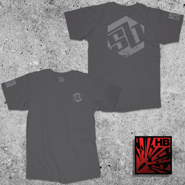 SB Tactical Logo Shirt - Charcoal