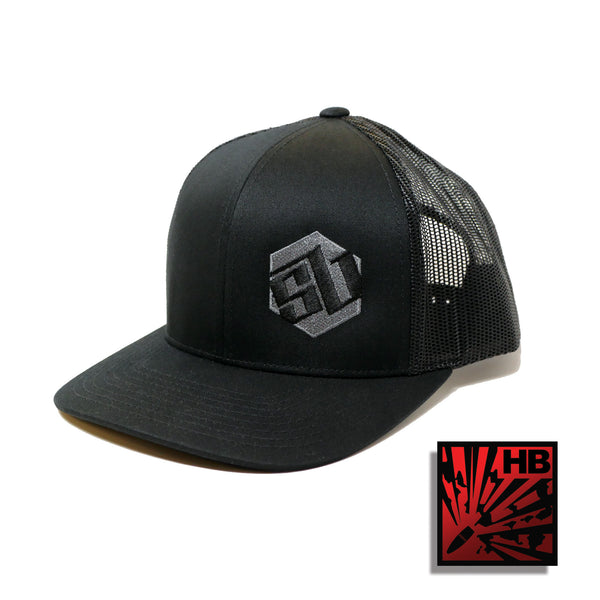 SB Tactical Trucker Hat - Black