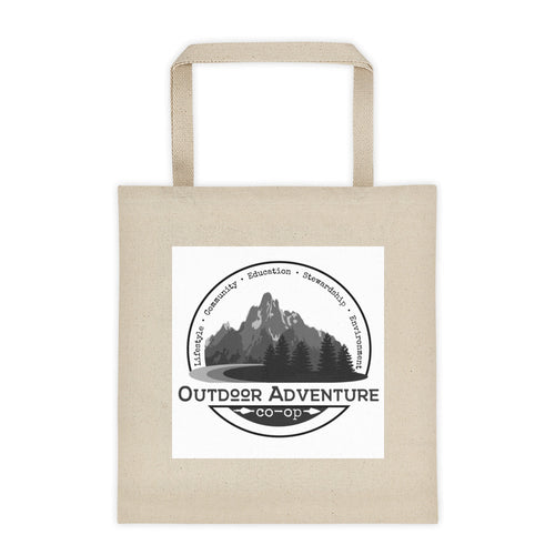 Canvas Tote Bag With OAC Logo