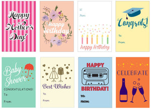 FREE Printable Gift Tags and a Rant About Greeting Cards