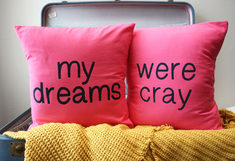 cray pillows