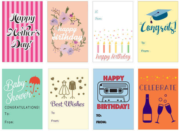 Free Printable Gift Tags And A Rant About Greeting Cards Roospot Art