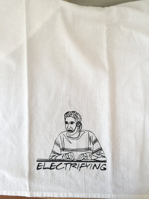 Friends Inspired Electrifying Flour Sack Towel