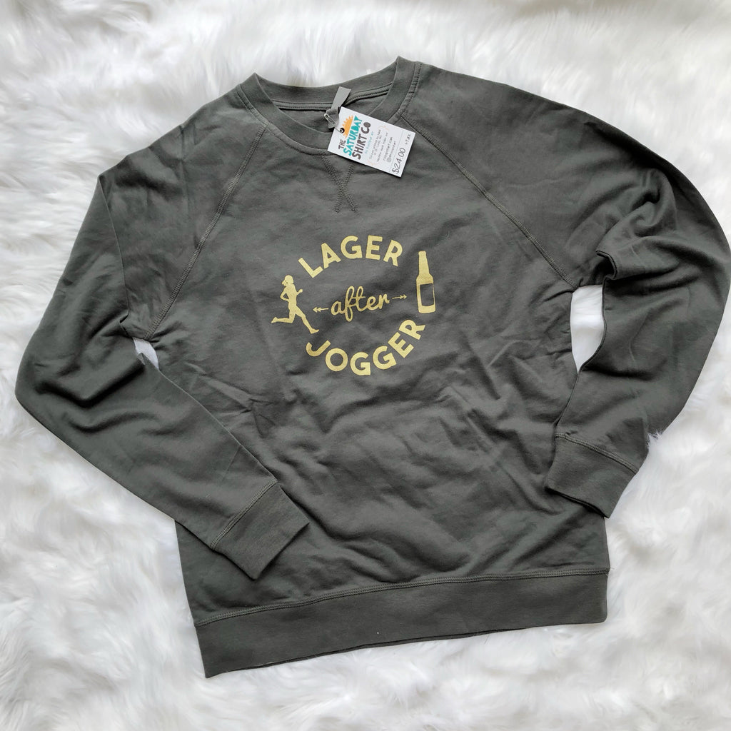Lager After Jogger French Terry Raglan