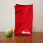 Organic Cotton St. Louis Arch Print Lunch Bag