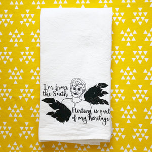 Blanche Devereaux Golden Girls Inspired Flour Sack Towel