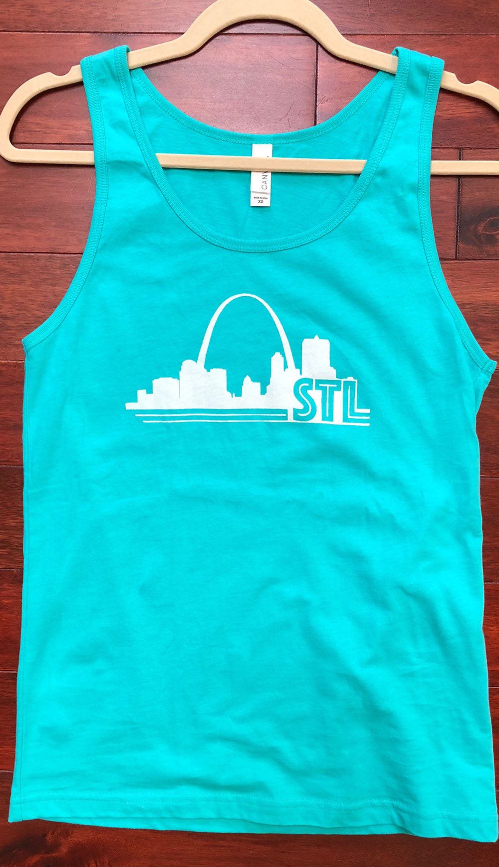 Men's/Women's St. Louis Print Tank Top