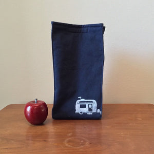 Organic Cotton Camper Print Lunch Bag