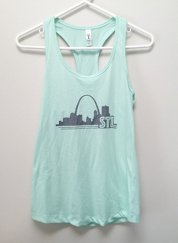 Women's St. Louis Print Tank Top
