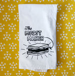 Friends Inspired The Moist Maker Flour Sack Towel
