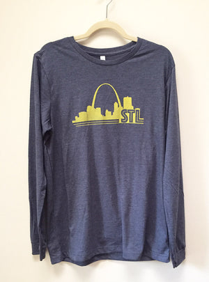 Men's/Women's Long Sleeve St. Louis Arch Shirt