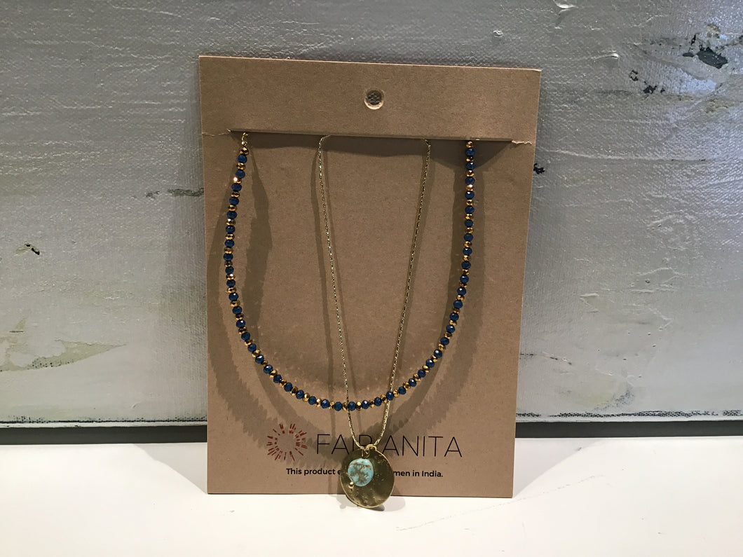 Fair Anita layered necklace