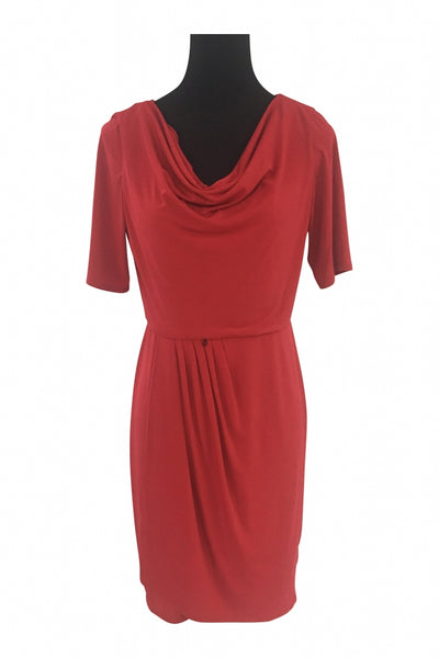 Ellen Tracy, Women's Red Dress - Size: 8 (Regular)