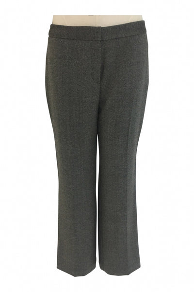 Jones New York, Women's Gray And Blackish Dressy Pant - Size: 10 (Regular)
