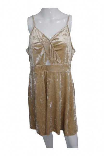 Xhilaration, Women's Light Brown  Dress - Size: XL (Regular)