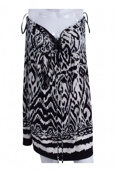 Saint Tropez West, Women's Black And White Dress - Size: 14 (Regular)