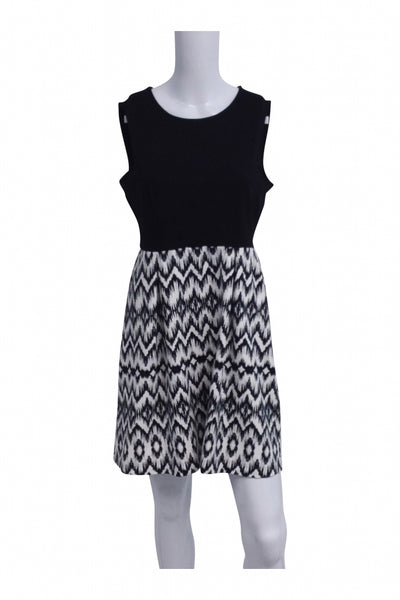 Cynthia Rowley, Women's Black And White Dress - Size: M (Regular)