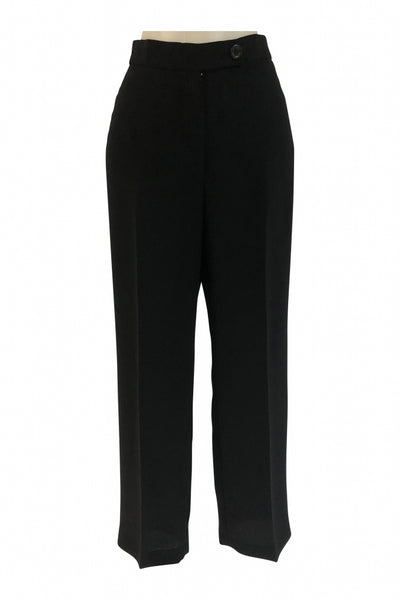 Jones New York, Women's Black Dress Pants - Size: 6 (Petite)