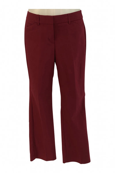 Express Editor, Women's Red Dress Pants - Size: 4 (Regular)