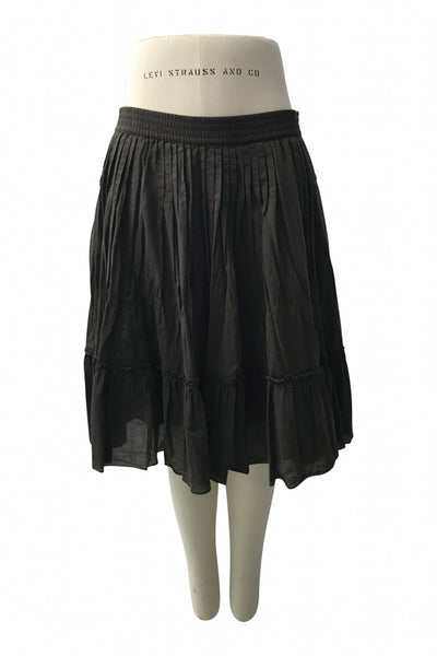 Gap, Women's Brown Midi Skirt - Size: S (Regular)