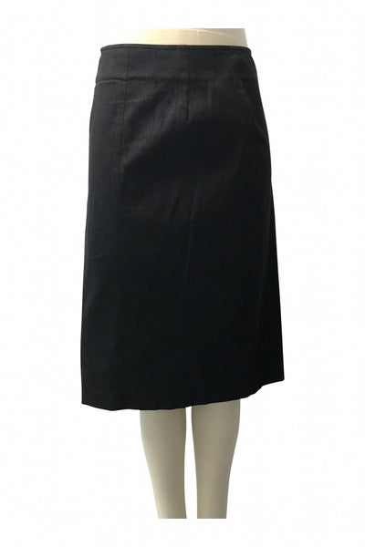 Jenne Maag, Women's Black Skirt - Size: 8 (Regular)