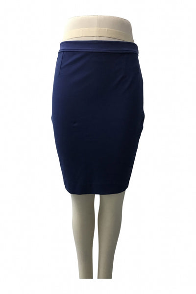 Uniqlo, Women's Blue Skirt - Size: 6 (Regular)