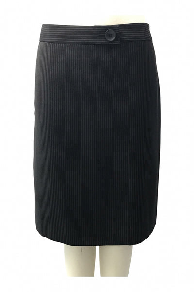 Unbranded, Women's Black Skirt - Size: 16 (Regular)