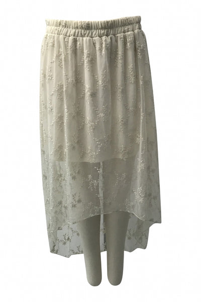 No Boundaries, Women's White Skirt - Size: XL (Regular)