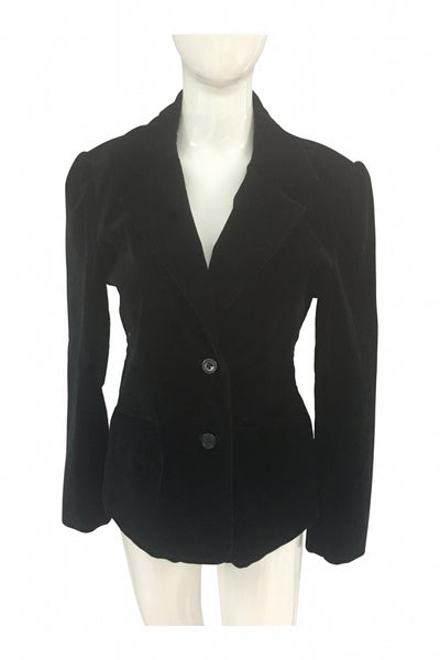 Old Navy, Women's Black Button-up Jacket - Size: M (Regular)