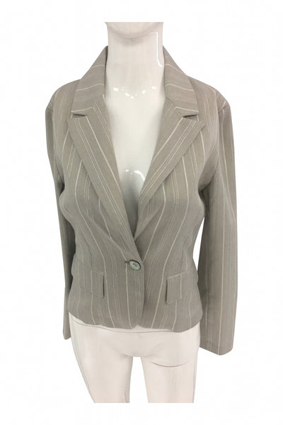 Mandee, Women's Grey Blazer - Size: S (Regular)