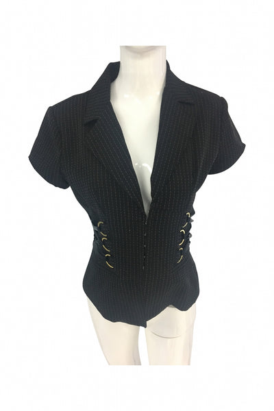 Sele, Women's Black Jacket - Size: M (Regular)