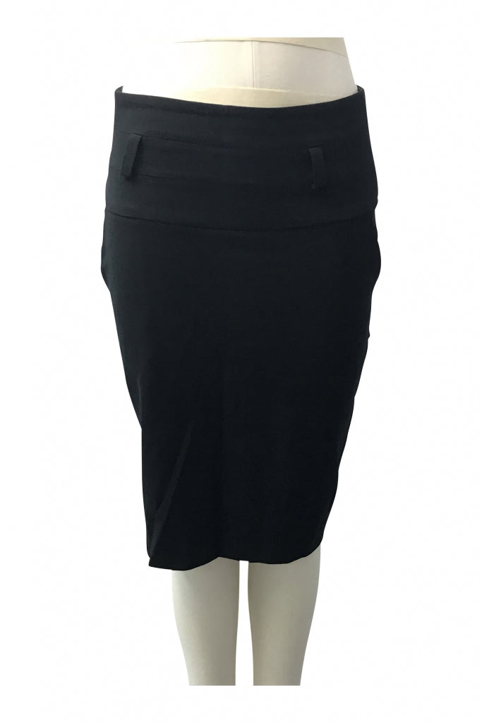 Mundee, Women's Black Skirt - Size: 10 (Regular)