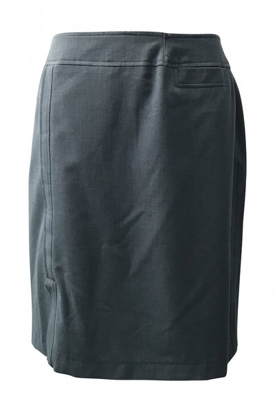 Jones Wear, Women's Grey Skirt - Size: 12 (Regular)