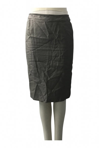 NIPON BOUTIQUE, Women's Grey Skirt - Size: 16 (Regular)