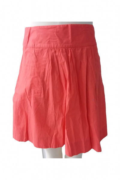 J. Crew, Women's Red Skirt - Size: 4 (Regular)