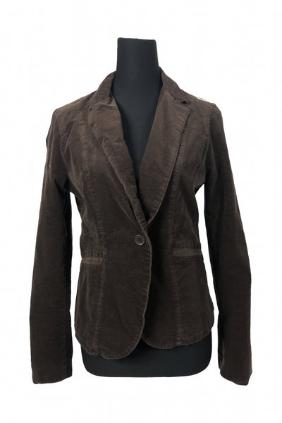 CALVIN KLEIN JEANS, Women's Brown Jacket - Size: L (Regular)
