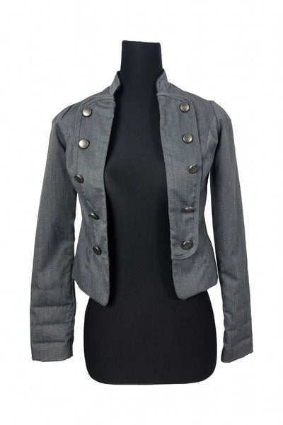 Heart Soul, Women's Grey Jacket - Size: S (Regular)