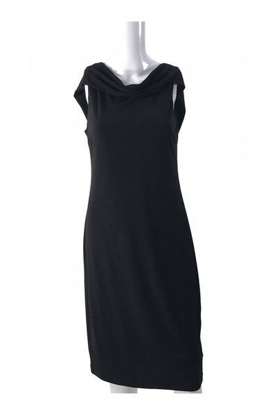 Anne Klein, Women's Black Sleeveless Dress - Size: 14 (Regular)