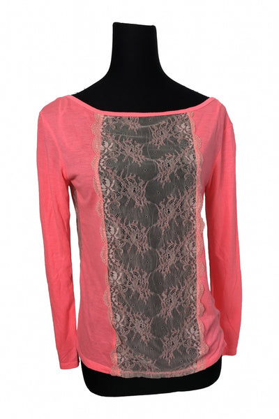 American Eagle Outfitters, Women's Pink Top - Size: XS (Regular)