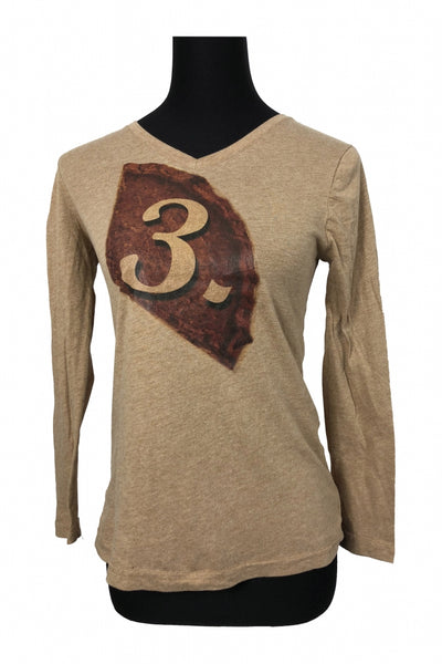 Faded Glory, Women's Brown Top - Size: S (Regular)