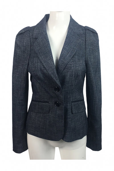 The Limited Collection, Women's Grey 2-button Blazer - Size: S (Regular)
