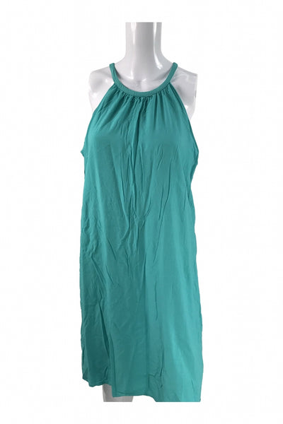 Dynamite, Women's Teal Tank Dress - Size: L (Regular)
