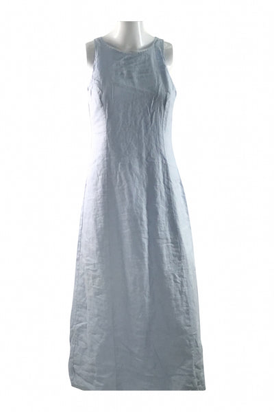 Gap, Women's  Teal Sleeveless Long Dress - Size: 2 (Regular)