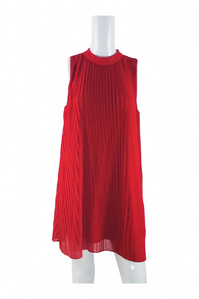 My Michelle, Women's Red Sleeveless Dress - Size: S (Regular)